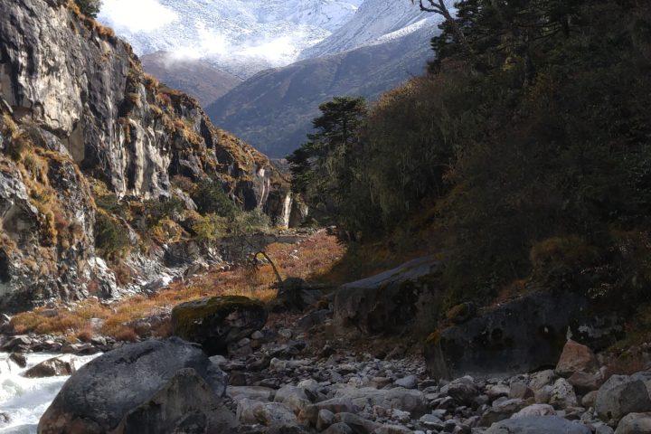 Bhote Kosi River EBC