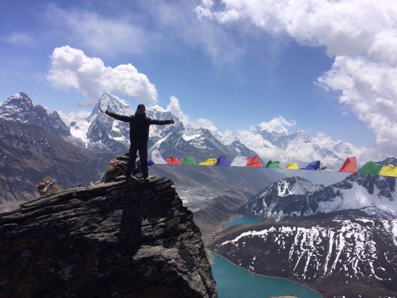 Hope Treks Nepal Everest Base Camp Via Cho La Pass And Gokyo Lakes
