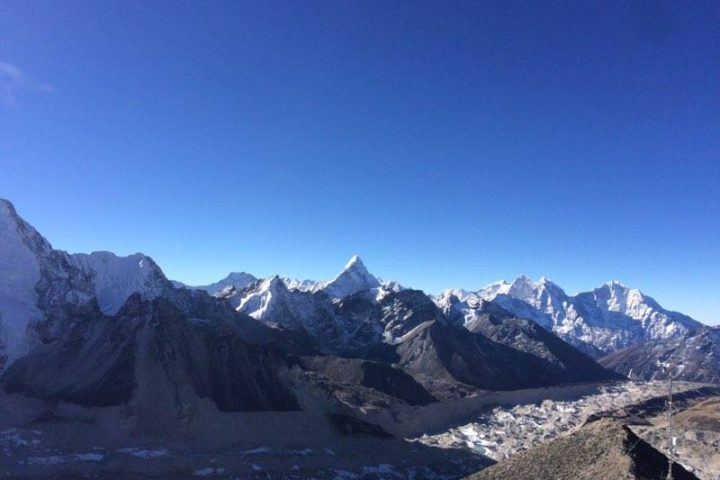 View from Kalapathar of Ama Dablam