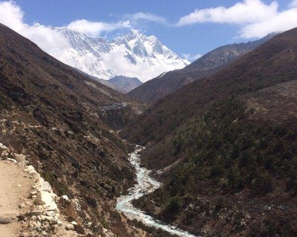 View from Pangbuche